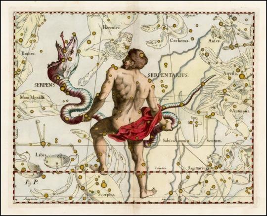 Ophiuchus-Serpentarius constelação astrologiA